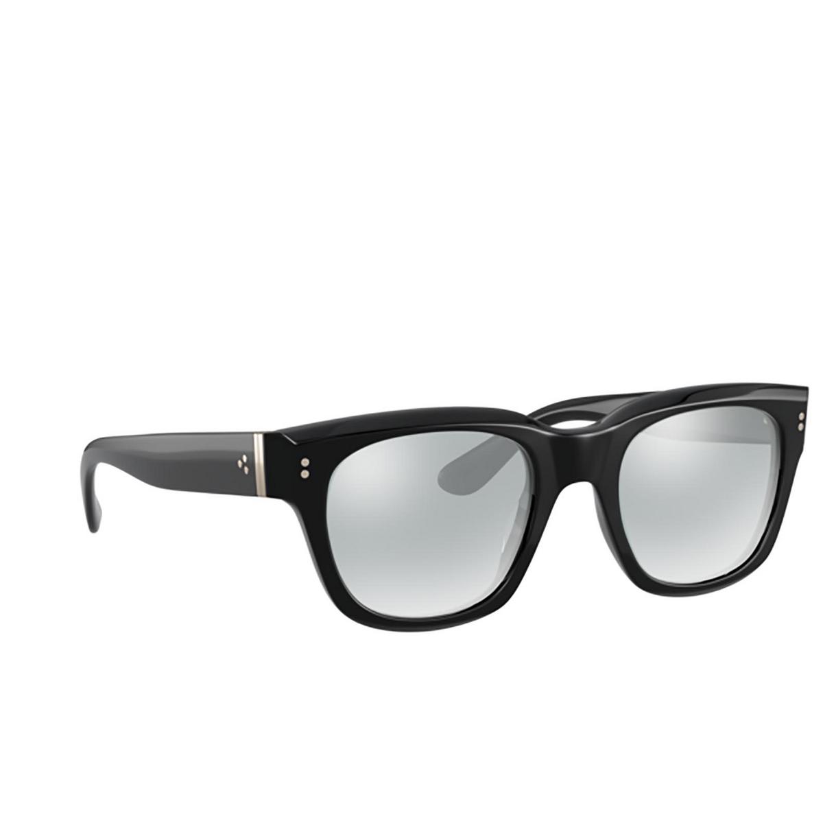 Oliver Peoples® Square Sunglasses: Shiller OV5433U color Black 1005.