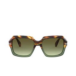 Persol® Sunglasses: PO0581S color Brown Tortoise & Opal Green 1122A6.