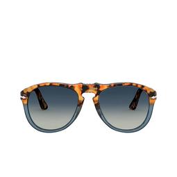 Persol® Sunglasses: PO0649 color Brown Tortoise & Opal Blue 112032.
