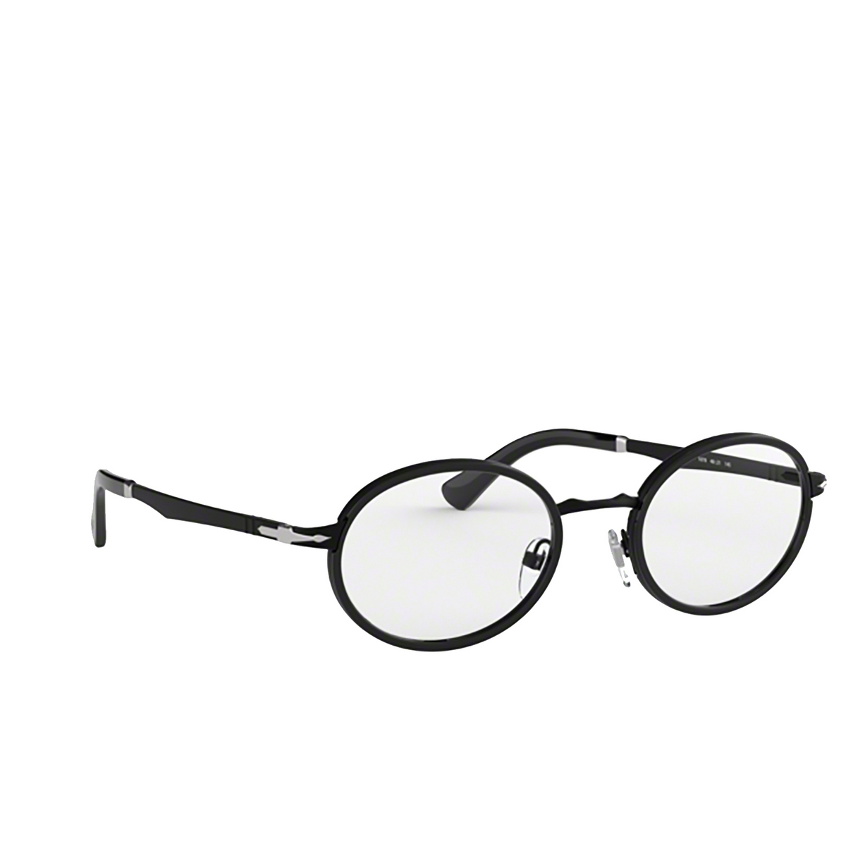 Persol® Oval Eyeglasses: PO2452V color Demi Gloss Black 1078.