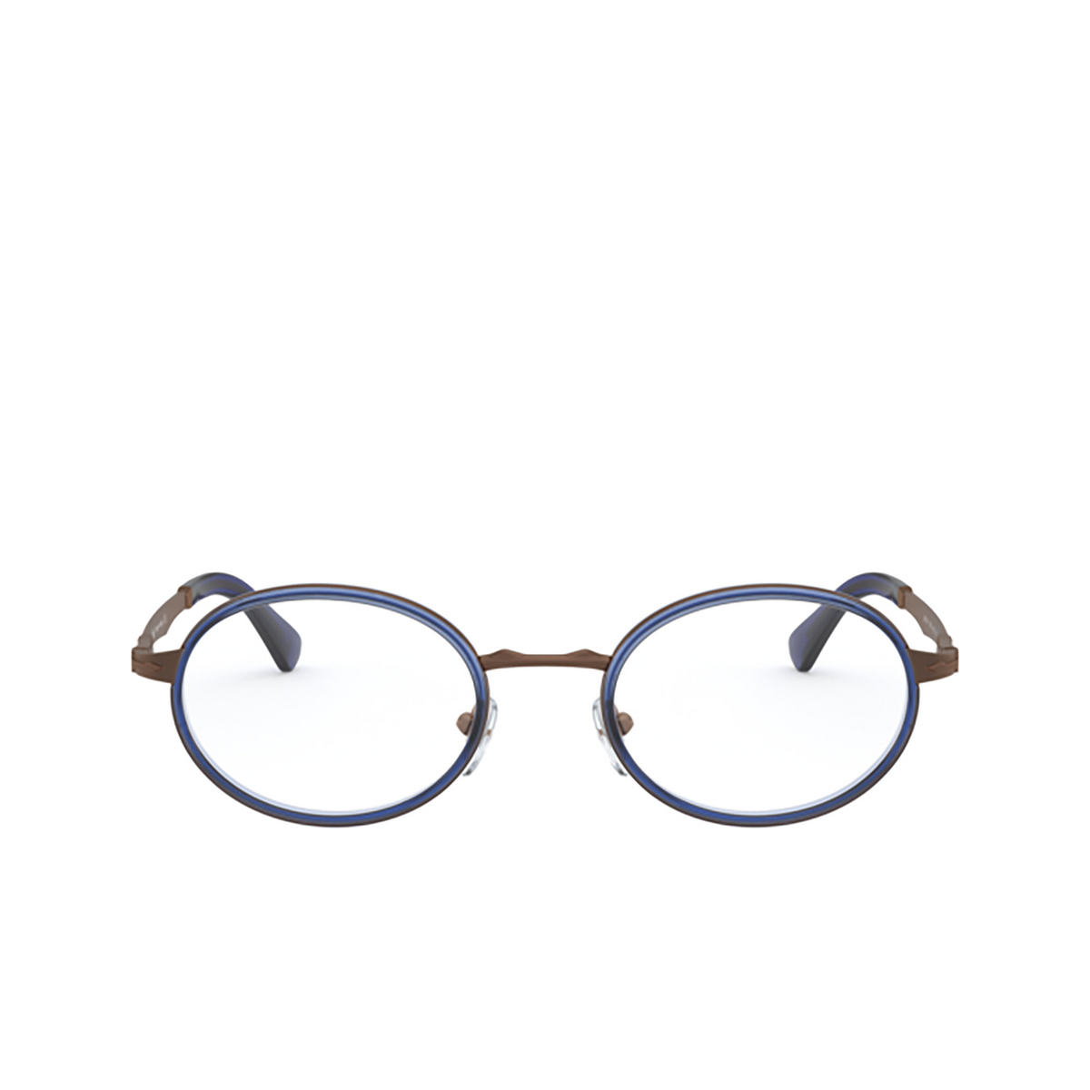 Persol® Oval Eyeglasses: PO2452V color Brown & Blue 1095 - front view.
