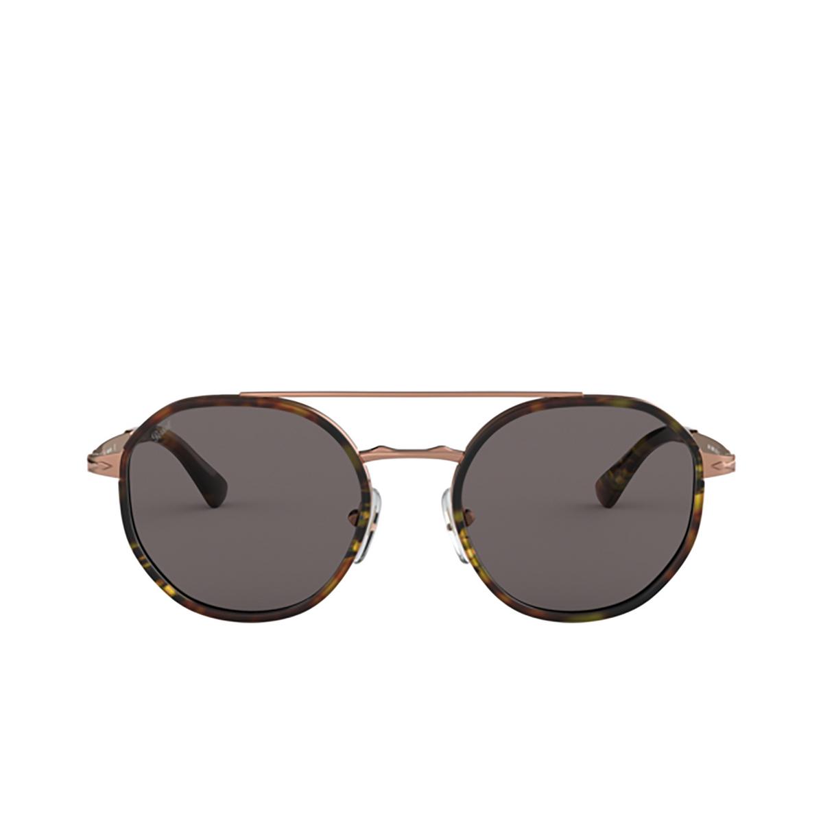 Persol® Aviator Sunglasses: PO2456S color Copper 1080R5 - front view.