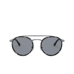 Persol® Sunglasses: PO2467S color Gunmetal & Blue Grid 109956.