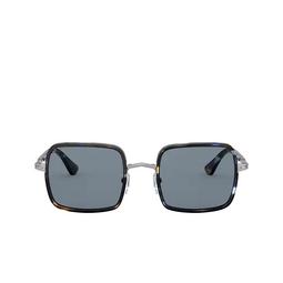 Persol® Sunglasses: PO2475S color Gunmetal & Blue Grid 109956.