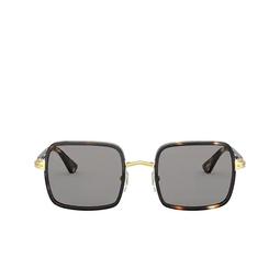 Persol® Sunglasses: PO2475S color Gold & Striped Browne & Smoke 1100R5.