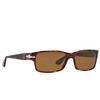 Persol® Rectangle Sunglasses: PO2803S color Havana 24/57 - product thumbnail 2/3.
