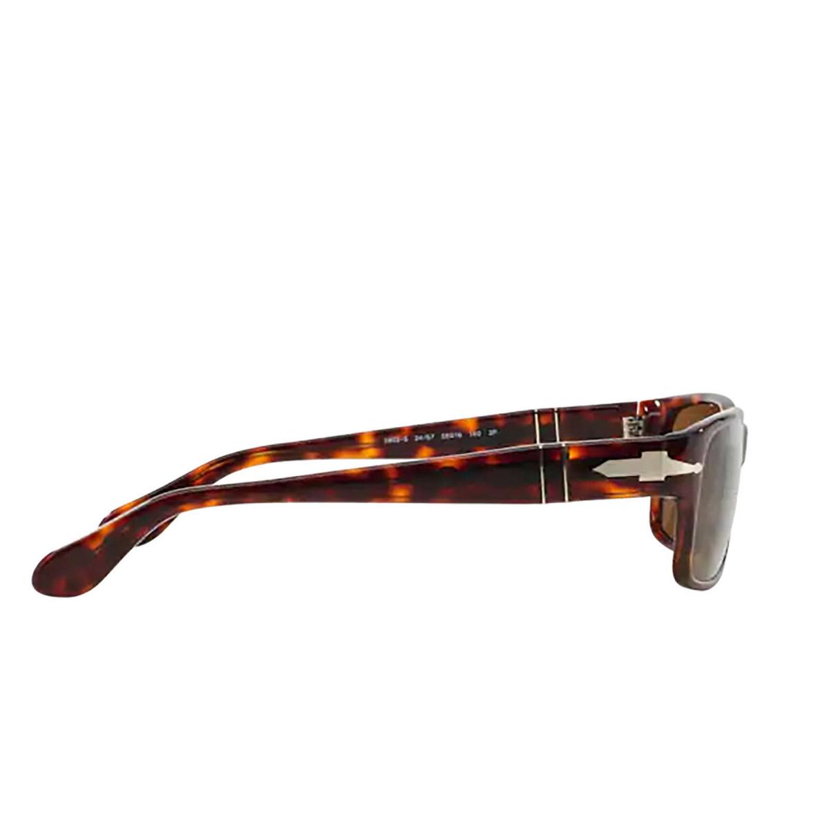 Persol® Rectangle Sunglasses: PO2803S color Havana 24/57 - 3/3.