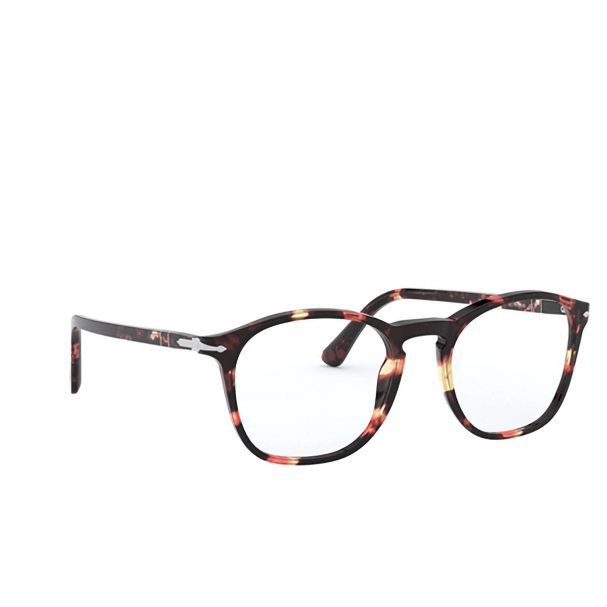 Persol® Square Eyeglasses: PO3007VM color Pink & Brown Tortoise 1059.