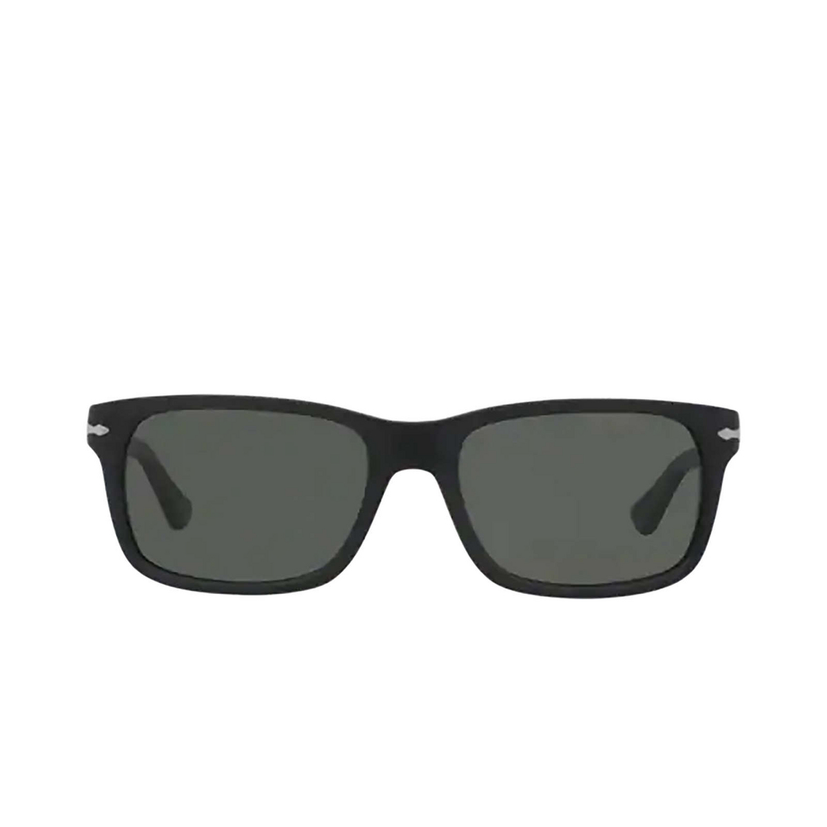Persol® Rectangle Sunglasses: PO3048S color Black 900058.
