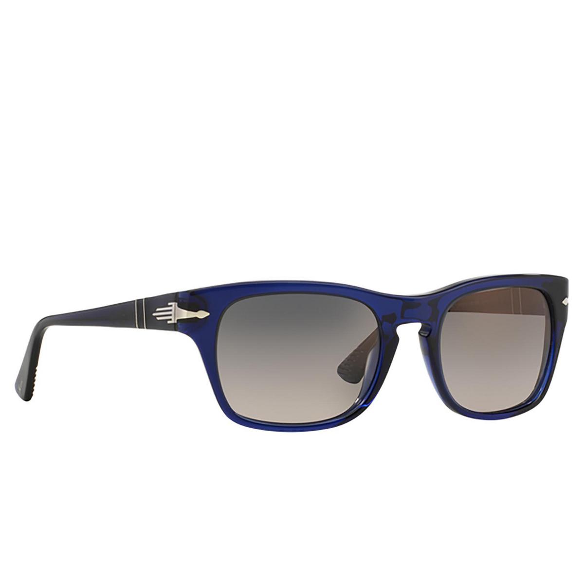 Persol® Square Sunglasses: PO3072S color Blue 181/M3 - 2/3.