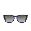 Persol® Square Sunglasses: PO3072S color Blue 181/M3 - product thumbnail 1/3.