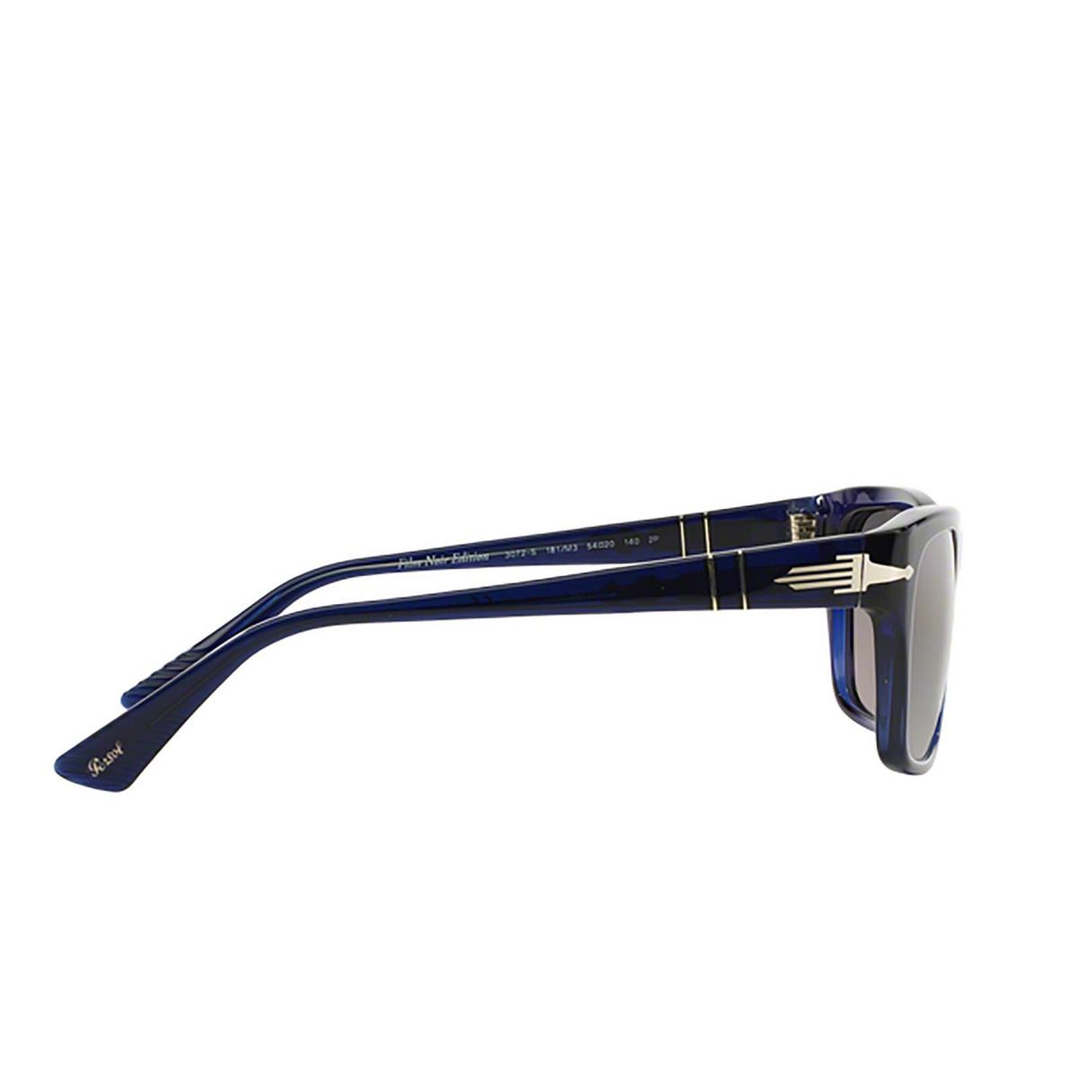 Persol® Square Sunglasses: PO3072S color Blue 181/M3 - 3/3.