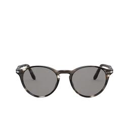 Persol® Sunglasses: PO3092SM color Striped Brown & Smoke 1124R5.