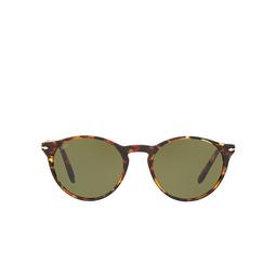 Persol® Sunglasses: PO3092SM color Dark Brown Tortoise 90604E.