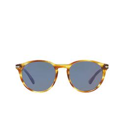 Persol® Sunglasses: PO3152S color Striped Brown & Yellow 904356.