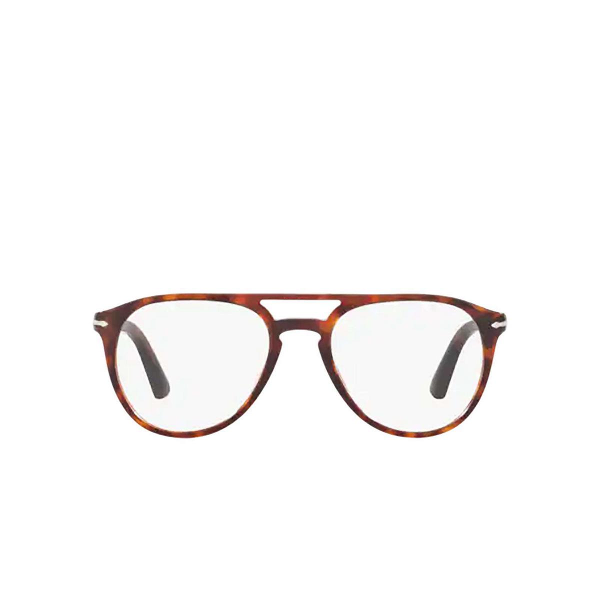 Persol® Aviator Eyeglasses: PO3160V color Havana 9015.