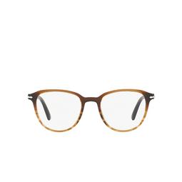Persol® Eyeglasses: PO3176V color Black Gradient / Striped Brown 1026.