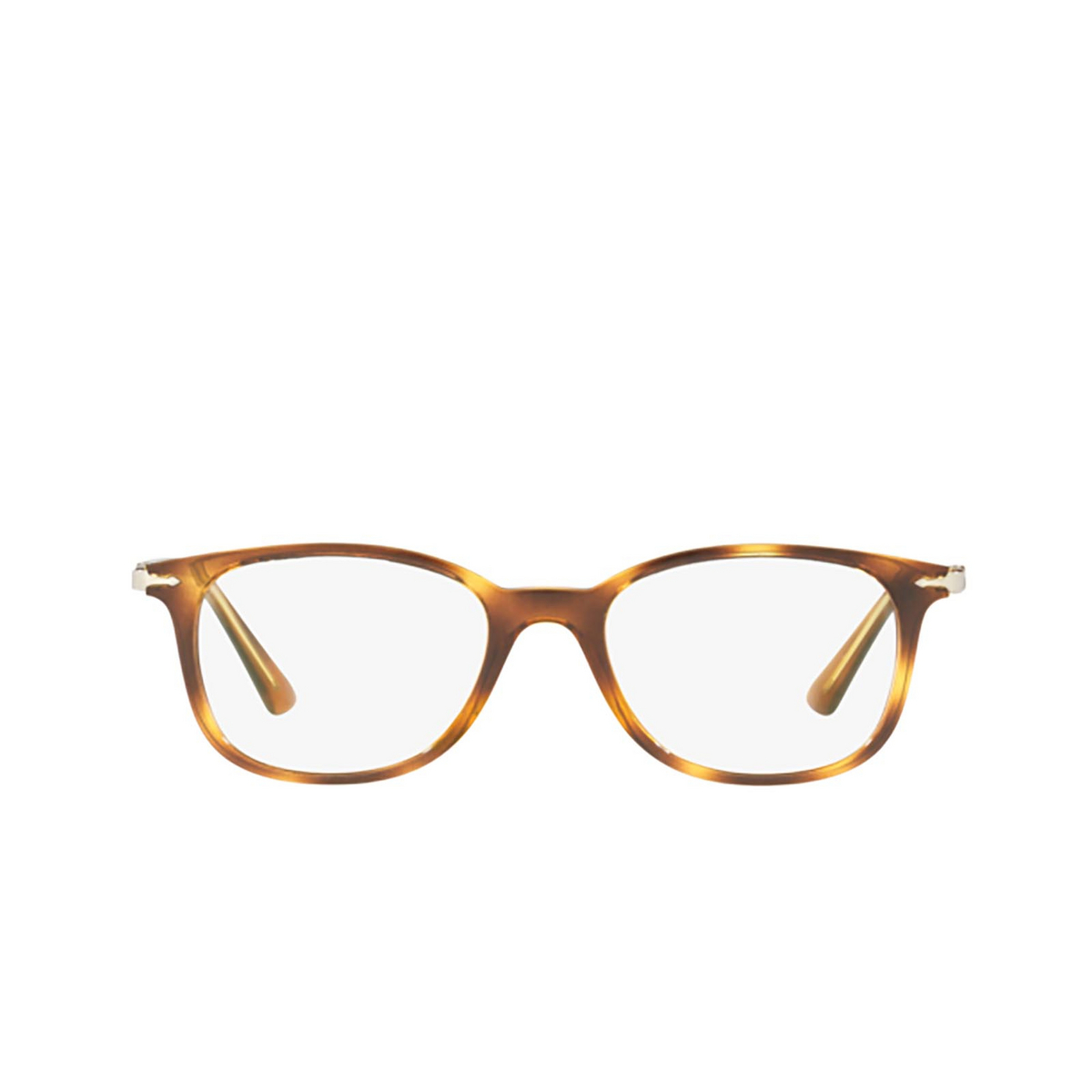 Persol® Rectangle Eyeglasses: PO3183V color Havana 1043 - front view.