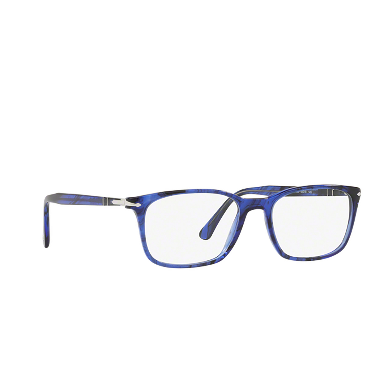 Persol® Square Eyeglasses: PO3189V color Striped Blue 1053.