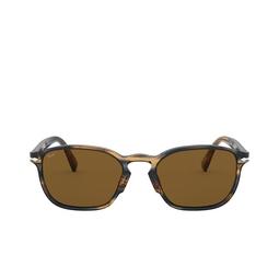Persol® Sunglasses: PO3234S color Striped Brown & Grey 104953.
