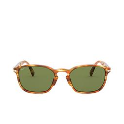 Persol® Sunglasses: PO3234S color Striped Brown & Yellow 105052.