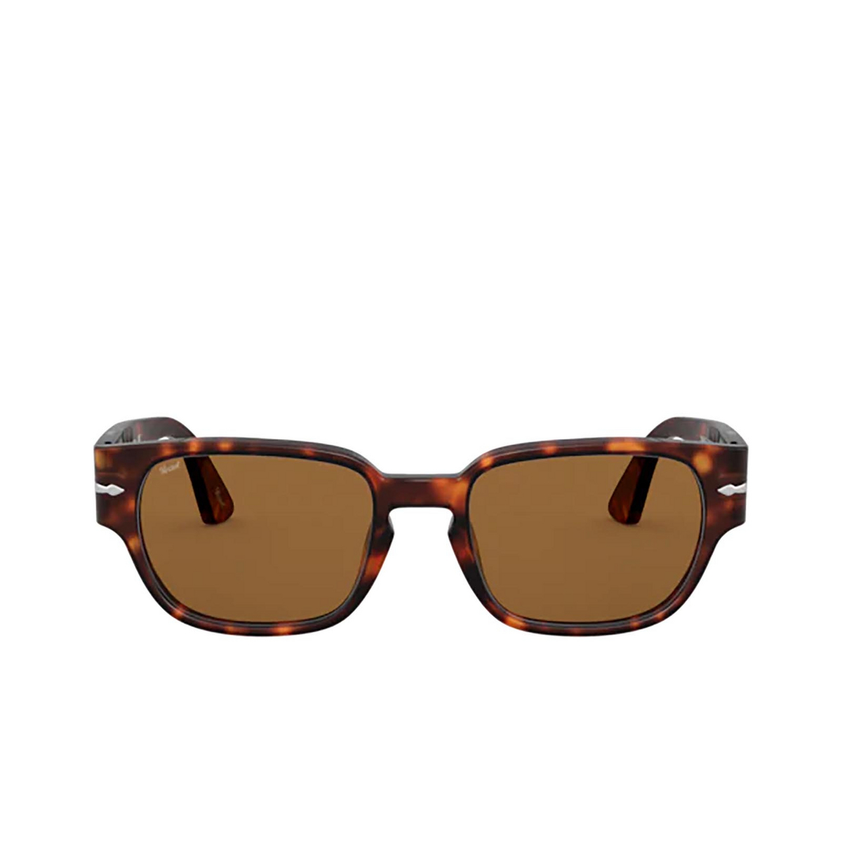 Persol® Irregular Sunglasses: PO3245S color Havana 24/33.
