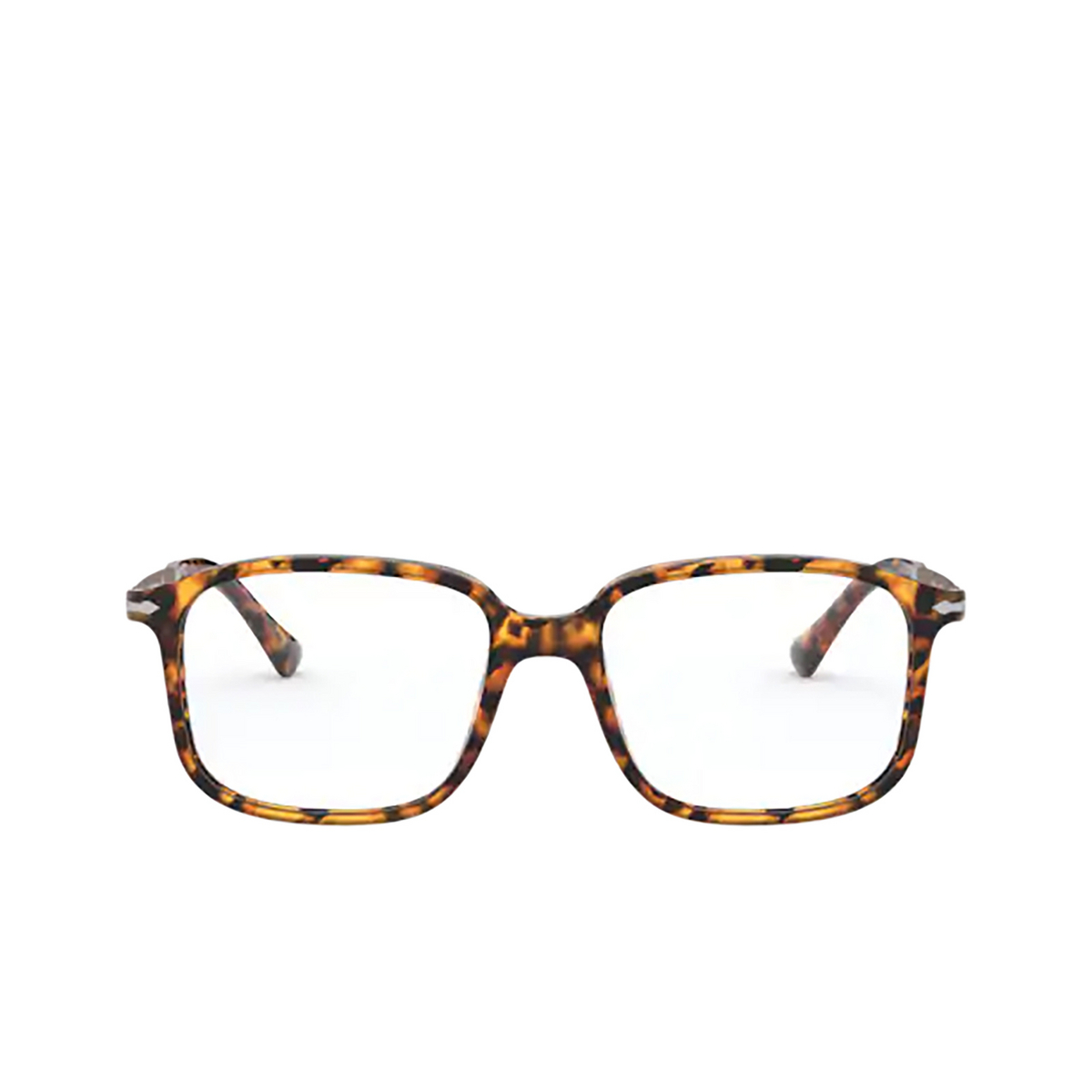 Persol® Rectangle Eyeglasses: PO3246V color Madreterra 1052 - front view.
