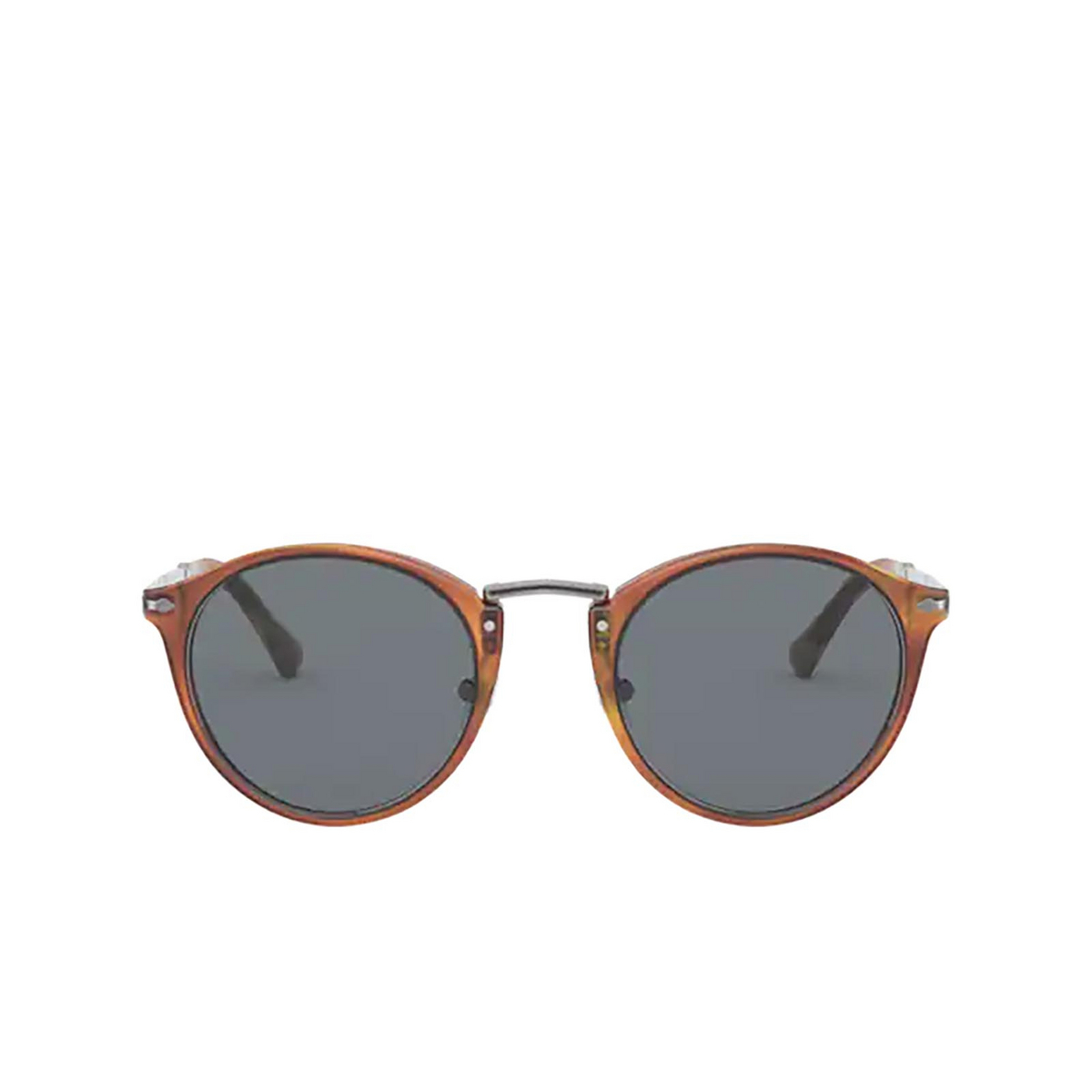 Persol® Round Sunglasses: PO3248S color Terra Di Siena 96/56.