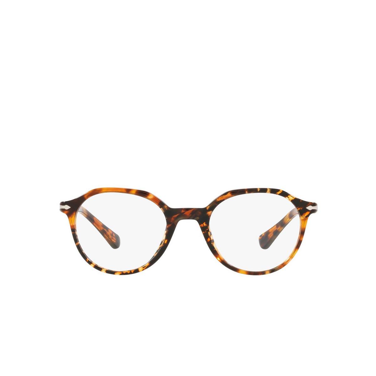 Persol® Irregular Eyeglasses: PO3253V color Tortoise Brown 1081 - front view.