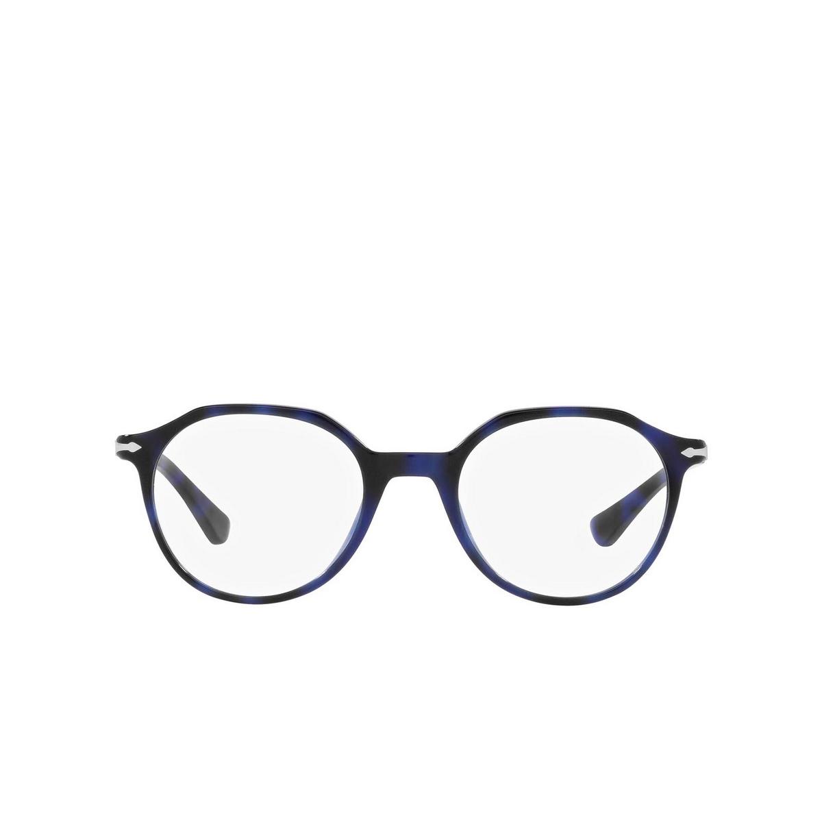 Persol® Irregular Eyeglasses: PO3253V color Blue 1099 - front view.