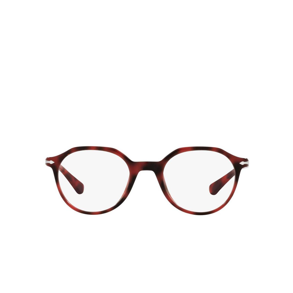 Persol® Irregular Eyeglasses: PO3253V color Red 1100 - front view.