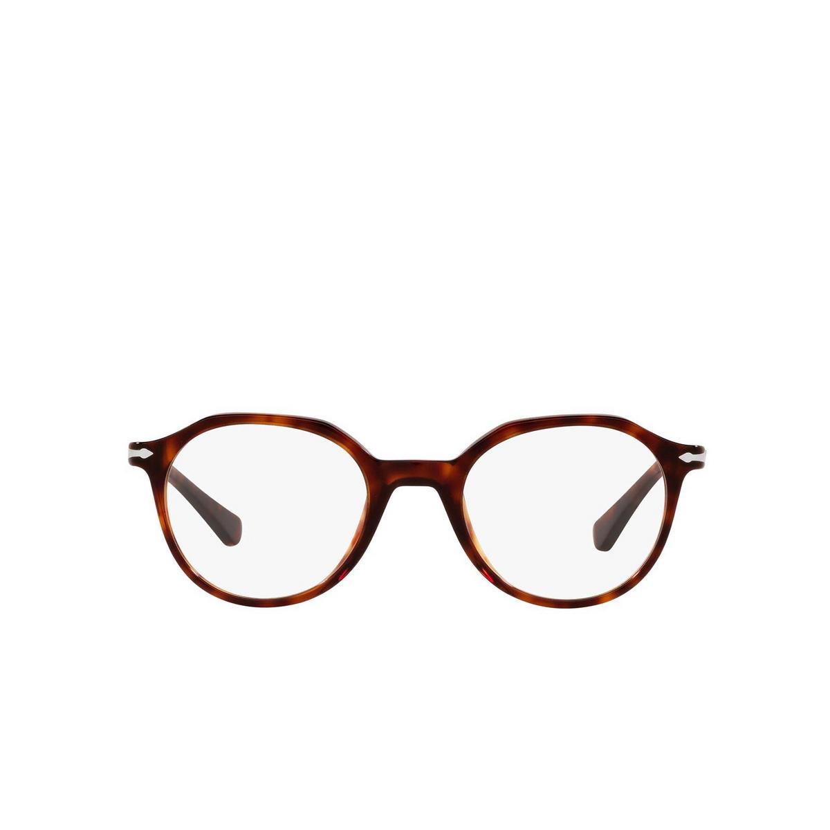 Persol® Irregular Eyeglasses: PO3253V color Havana 24.