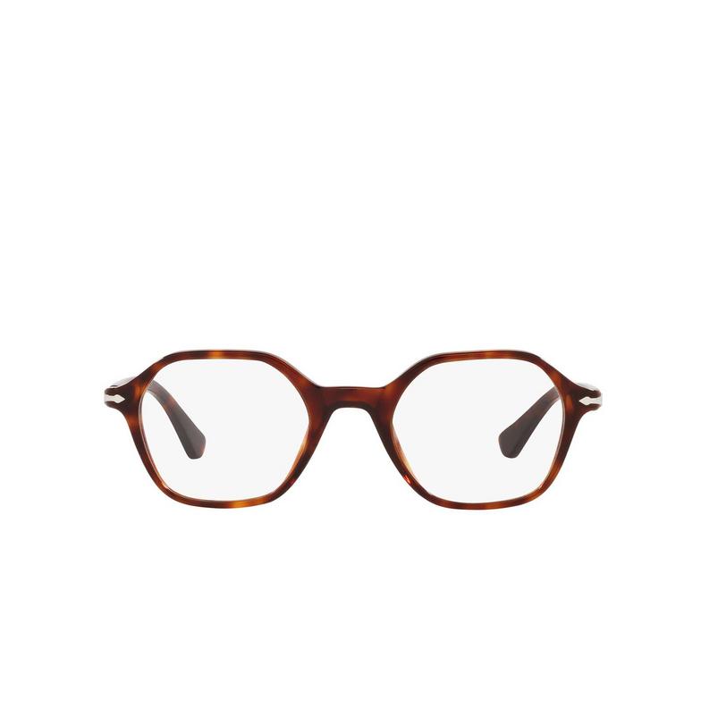 Persol® Irregular Eyeglasses: PO3254V color Havana 24.