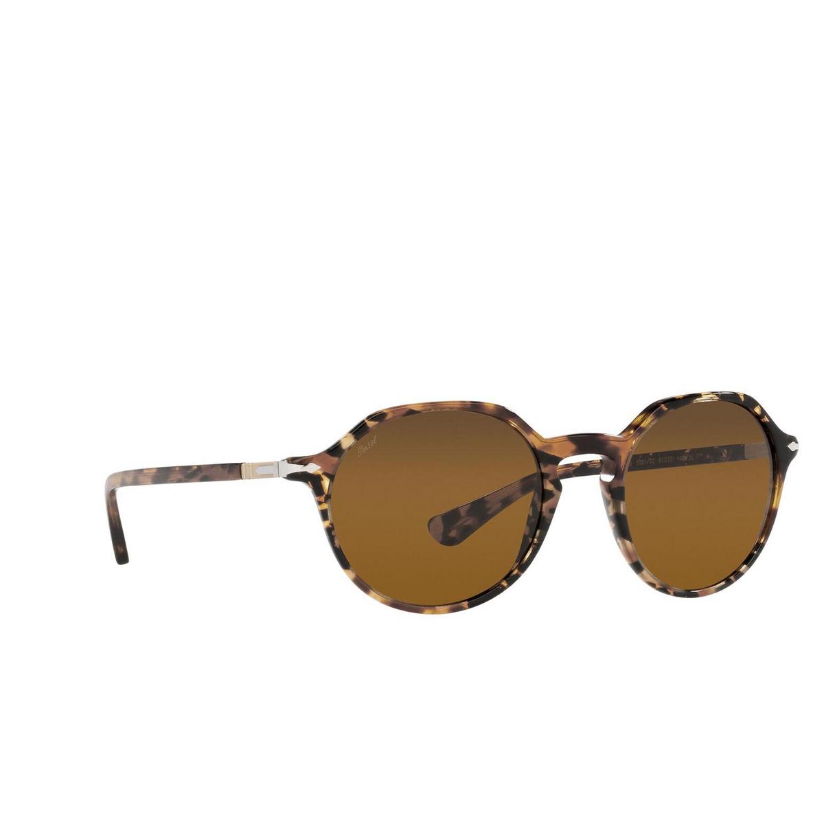 Persol® Irregular Sunglasses: PO3255S color Tortoise Brown 108133.
