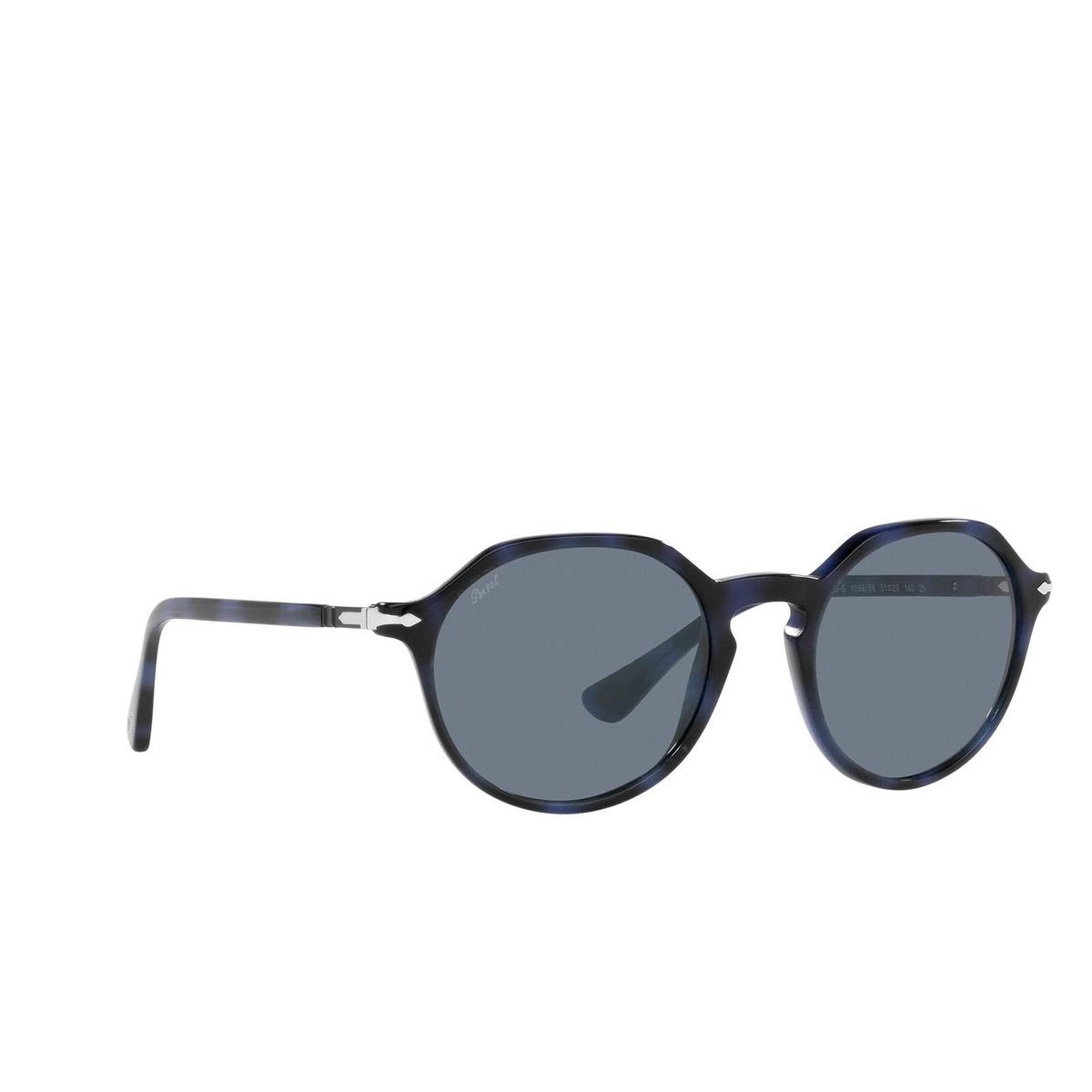 Persol® Irregular Sunglasses: PO3255S color Blue 109956.