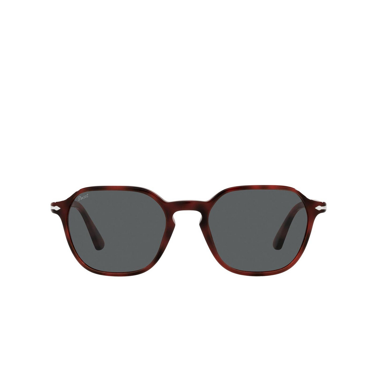 Persol® Square Sunglasses: PO3256S color Red 1100B1.