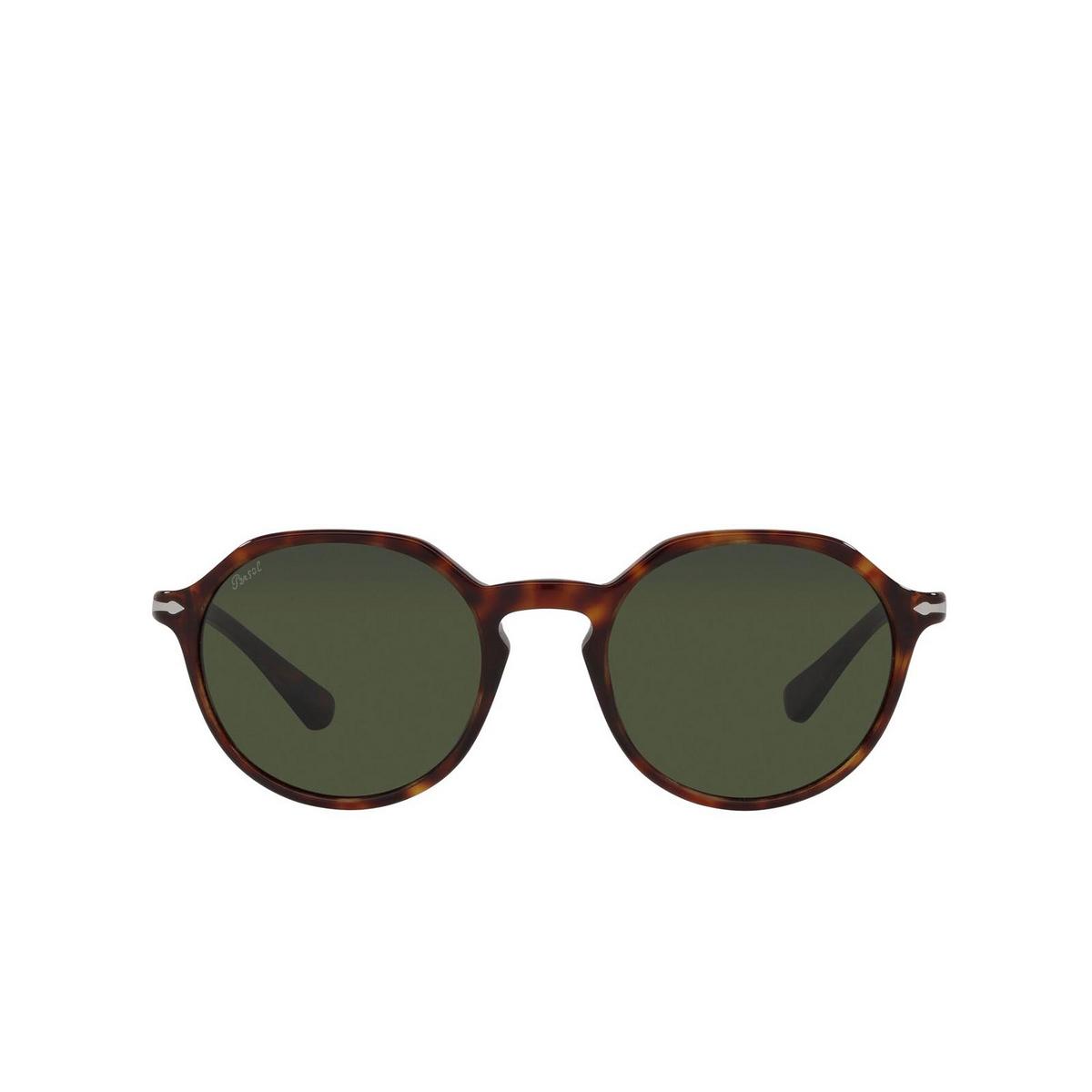 Persol® Square Sunglasses: PO3256S color Havana 24/31.