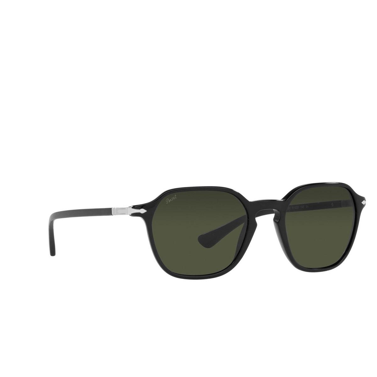 Persol® Square Sunglasses: PO3256S color Black 95/31.