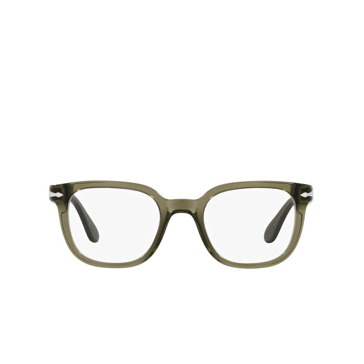 Persol® Square Eyeglasses: PO3263V color Grey 1103 - front view.