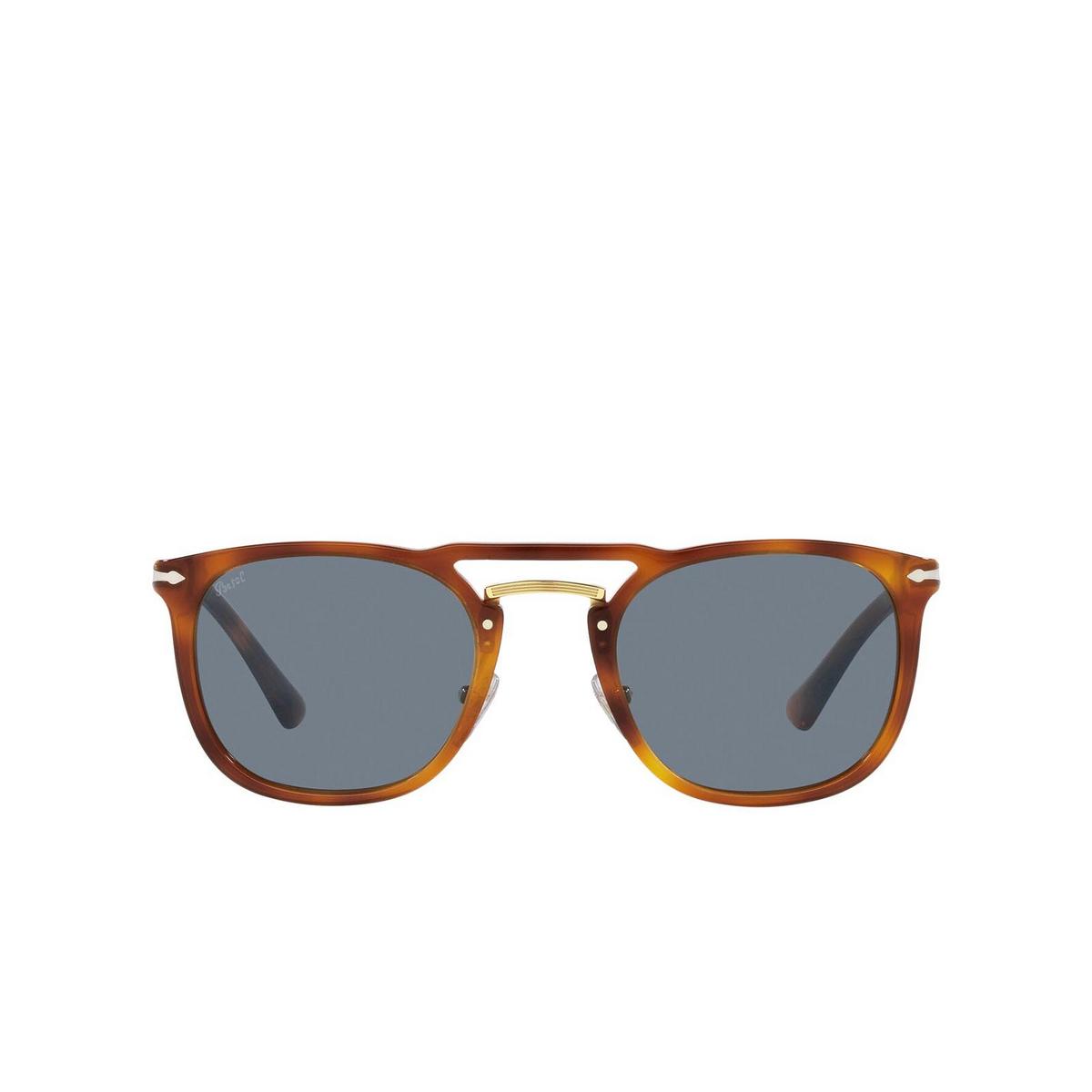 Persol® Square Sunglasses: PO3265S color Terra Di Siena 96/56 - front view.
