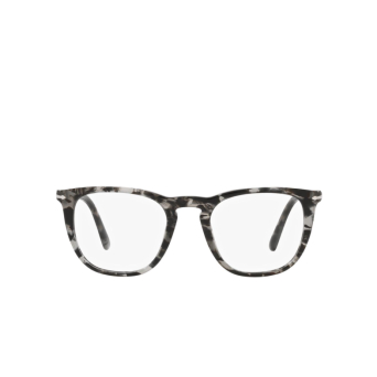 Persol® Square Eyeglasses: PO3266V color Grey Havana 1080.