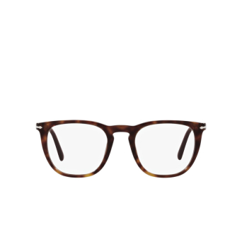 Persol® Square Eyeglasses: PO3266V color Havana 24.