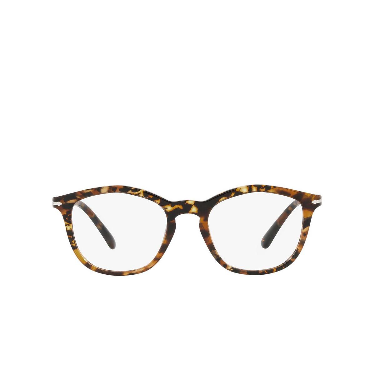 Persol® Irregular Eyeglasses: PO3267V color Tortoise Brown 1081 - front view.