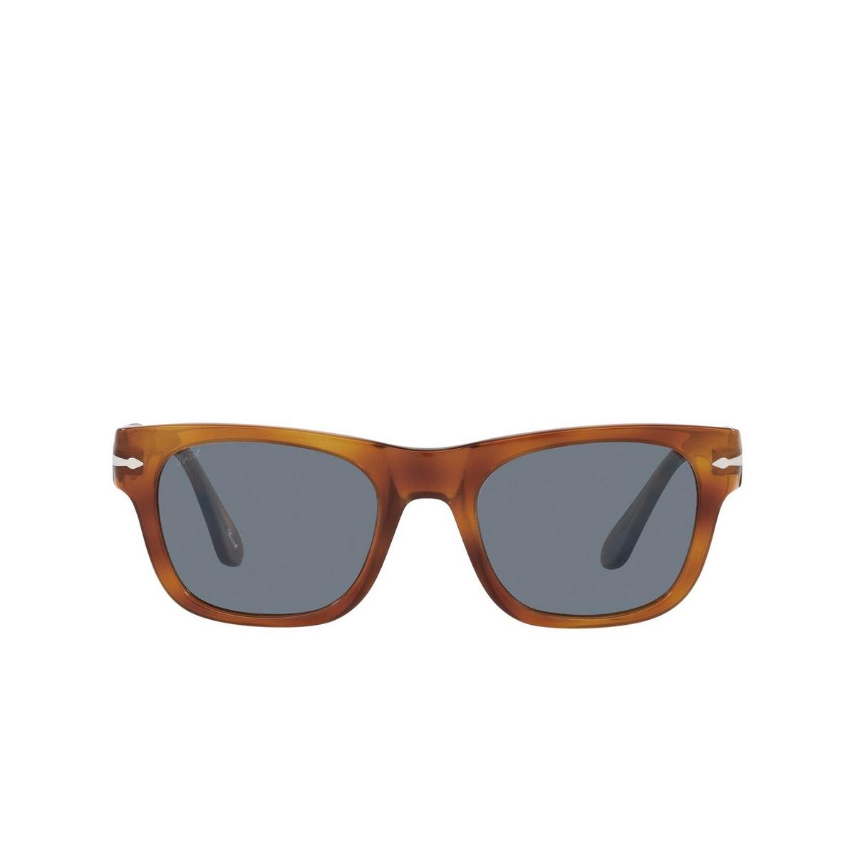 Persol® Rectangle Sunglasses: PO3269S color Terra Di Siena 96/56 - front view.