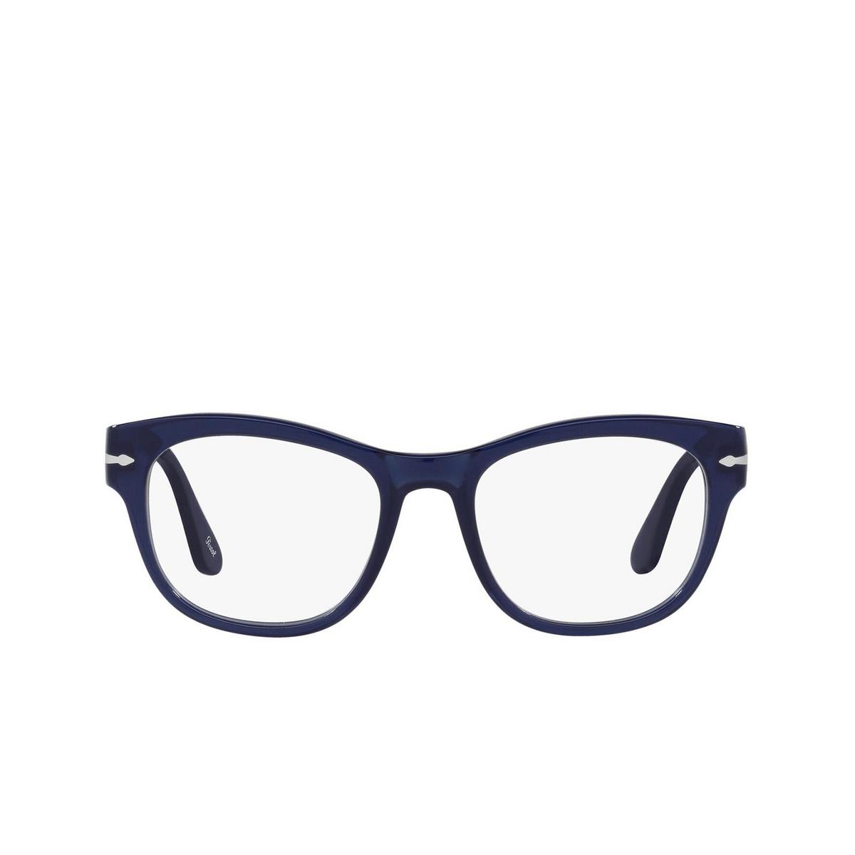 Persol® Square Eyeglasses: PO3270V color Cobalto 181 - front view.