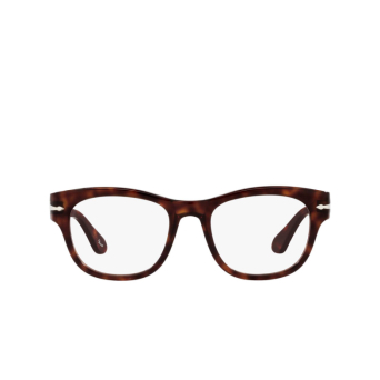 Persol® Square Eyeglasses: PO3270V color Havana 24.