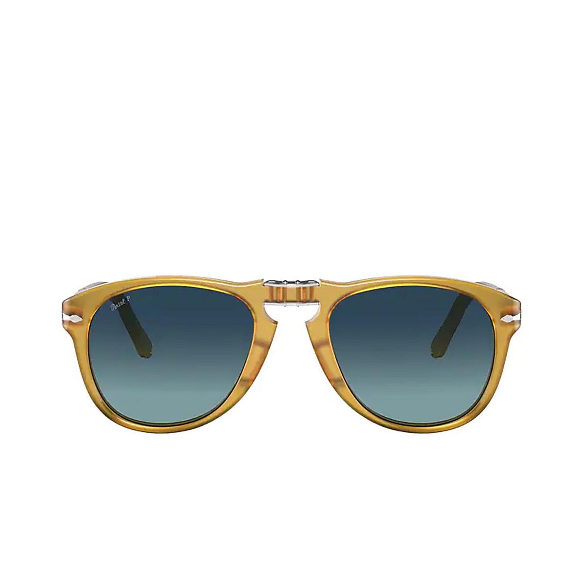 Persol® Aviator Sunglasses: Steve Mcqueen PO0714SM color Honey 204/S3.
