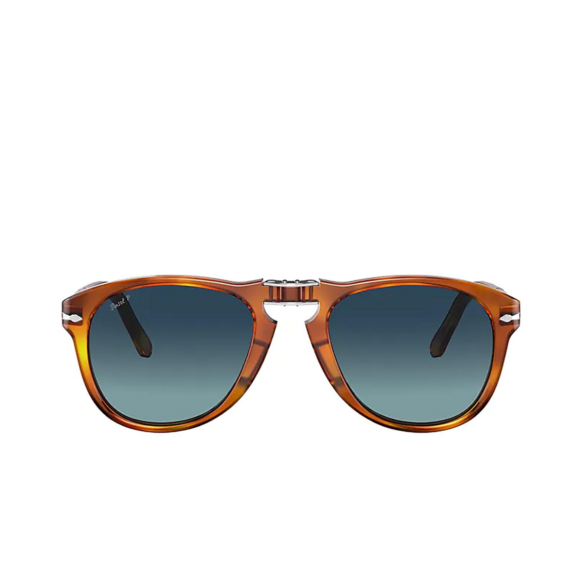 Persol® Aviator Sunglasses: Steve Mcqueen PO0714SM color Terra Di Siena 96/S3.