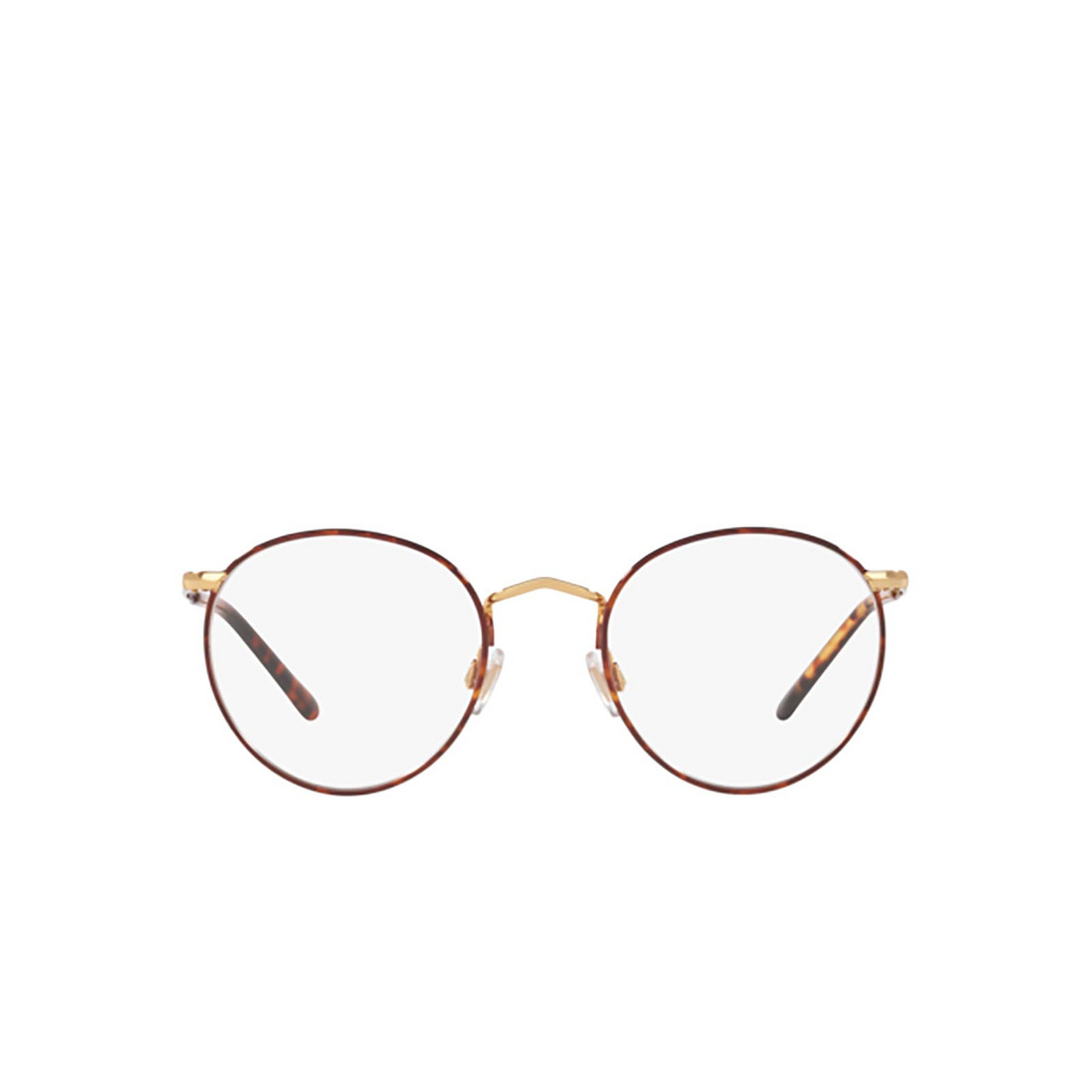 Polo Ralph Lauren® Round Eyeglasses: PH1179 color Havana On Shiny Gold 9384 - front view.