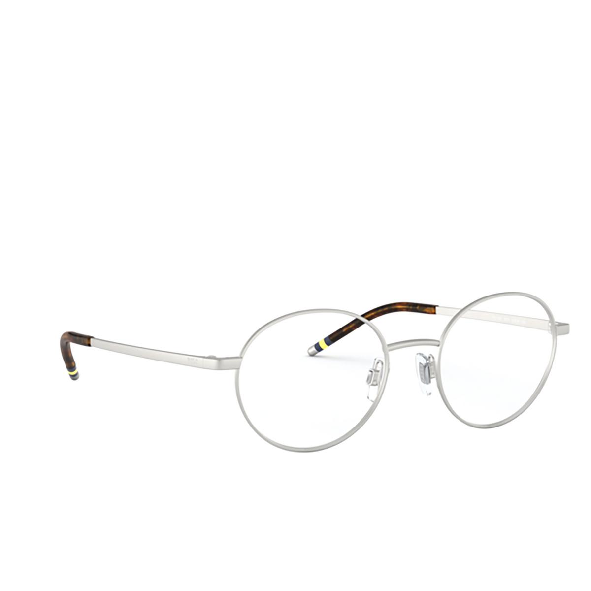 Polo Ralph Lauren® Oval Eyeglasses: PH1193 color Matte Silver 9010.